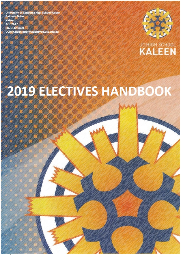 2019 Handbook UC High School Kaleen