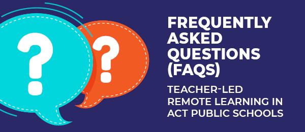 Remote Learning FAQ