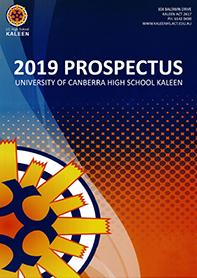 2019 UCHSK Prospectus cover